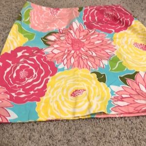 Floral Lilly Pulitzer Pencil Skirt